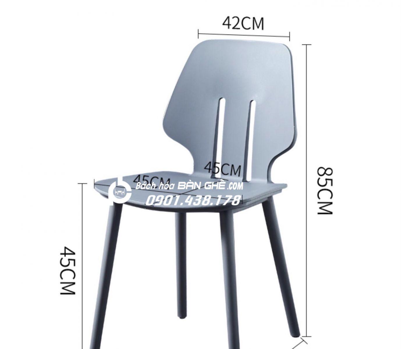 Ghế nhựa đúc GLM13B